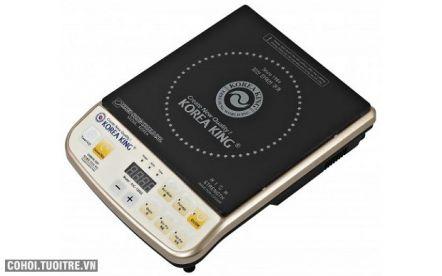 Bếp điện từ Korea King KIC 1300G công suất 2000W