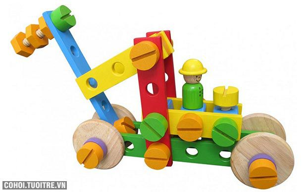 Bộ lắp ráp sáng tạo Winwintoys 64302 bằng gỗ
