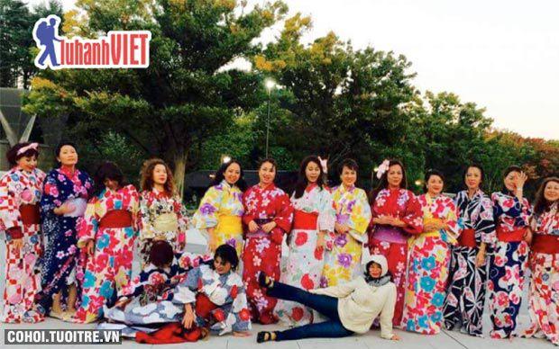Tour du xuân Nhật Bản khuyến mãi 14,9 triệu đồng