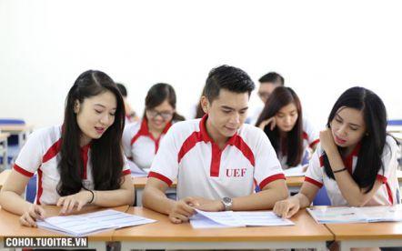 UEF chính thức nhận hồ sơ xét tuyển học bạ THPT đợt 1