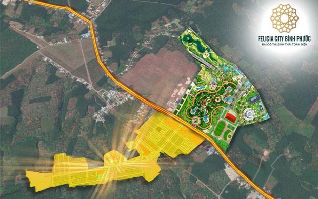 Phát triển dự án Đại đô thị sinh thái toàn diện Felicia City