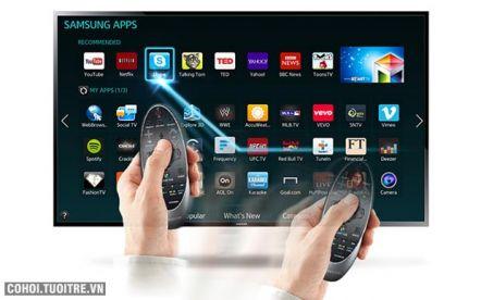 Mua tivi Samsung 3D giảm 1.000.000đ, tặng kính 3D & quạt phun sương