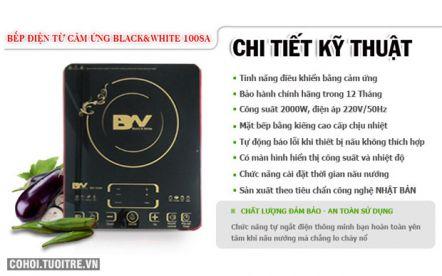 Bếp điện từ cảm ứng Black&White BW-1008A