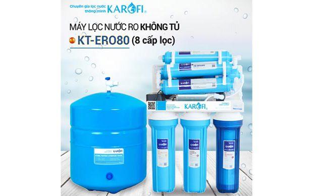 Xả kho máy lọc nước RO KAROFI KT-ERO80 (8 cấp lọc) giá KM 2.990.000đ