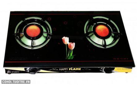 Bếp gas hồng ngoại cao cấp Happy Flame HP-3390HN