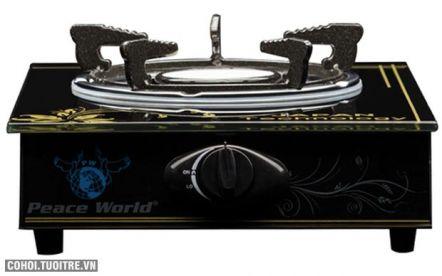 Bếp gas hồng ngoại đơn cao cấp Peace World PW-017HN