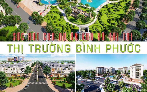 Sức hút cho dự khu đô thị tại thị trường Bình Phước