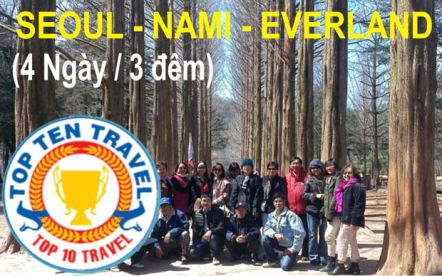 Khuyến mãi đặc biệt tour Hàn Quốc (4N3Đ)