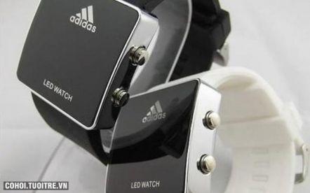 Đồng hồ LED lạ và độc đáo