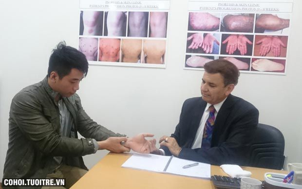 Mối liên hệ giữa bệnh vẩy nến với nhiễm virus, nấm