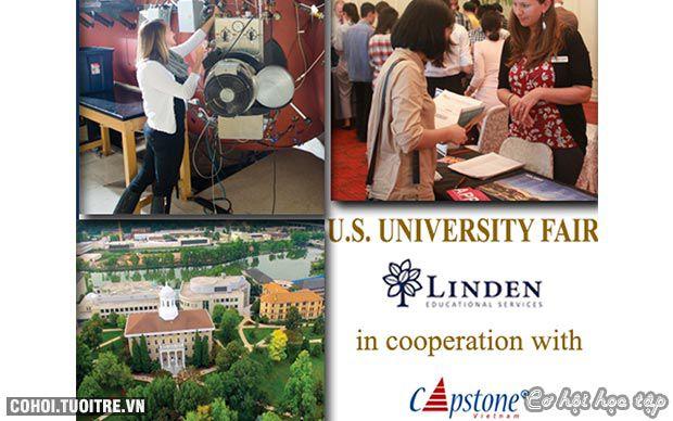 Săn học bổng tại triển lãm du học ĐH Mỹ