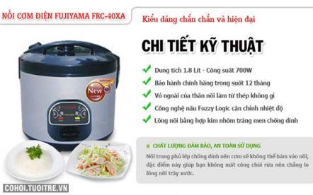 Nồi cơm hiện đại và tiện lợi FUJIYAMA FRC-40XA