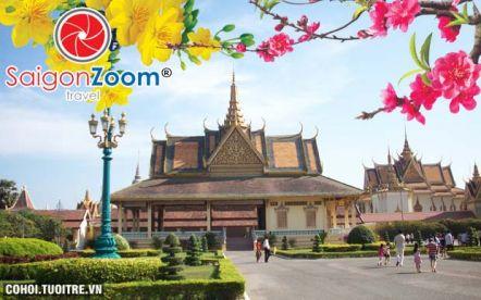 Tour Siem Reap - Phnom Penh Tết Nguyên đán 2015