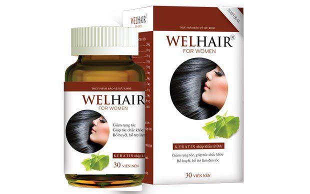 Welhair for Women, cho nàng không còn nỗi lo rụng tóc
