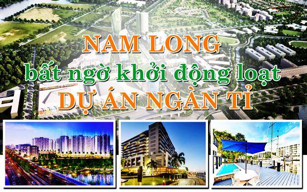 Nam Long bất ngờ khởi động loạt dự án ngàn tỉ