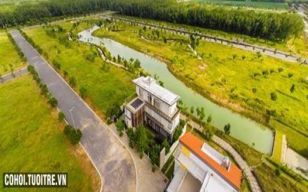 Sang nền đất khu đô thị Đông Sài Gòn