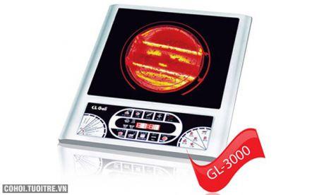 Bếp hồng ngoại halogen Gali GL-3000 thương hiệu Việt