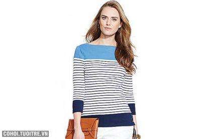 Áo thun nữ hàng hiệu Mỹ Ralph Lauren mã O447