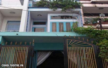 Nhà hẻm 5m đường Đặng Lộ quận Tân Bình