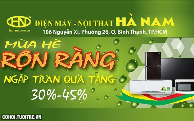 Điện máy Hà Nam giảm giá - tặng quà