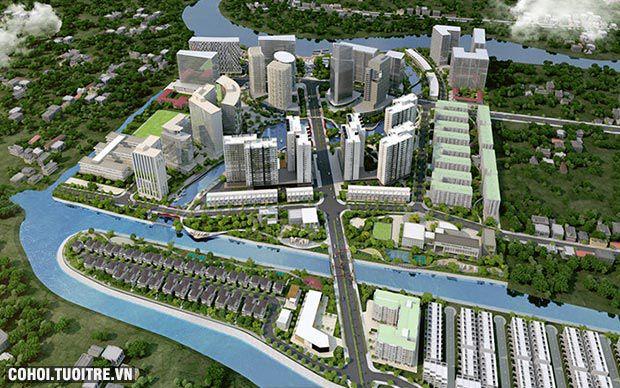 Mizuki Park và cú hích từ hạ tầng khu Nam