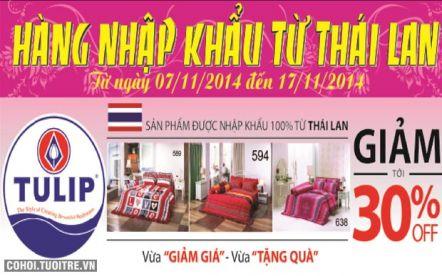 Hàng nhập khẩu từ Thái Lan
