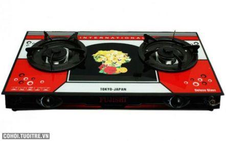 Bếp gas mặt kính Fujishi FL - N77