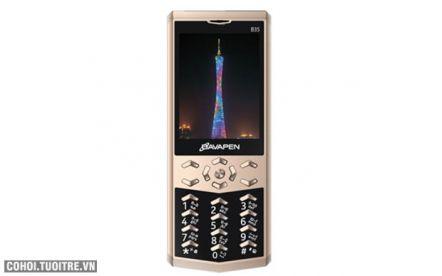 Điện thoại Bavapen B35 pin khủng, kiểu dáng đẹp