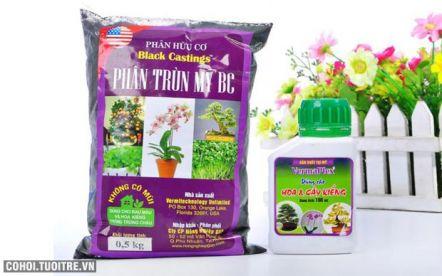 Combo 2 sản phẩm chăm sóc cây cảnh