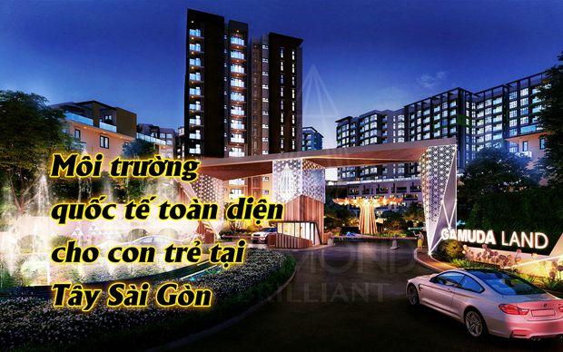 Môi trường quốc tế toàn diện cho con trẻ tại Tây Sài Gòn