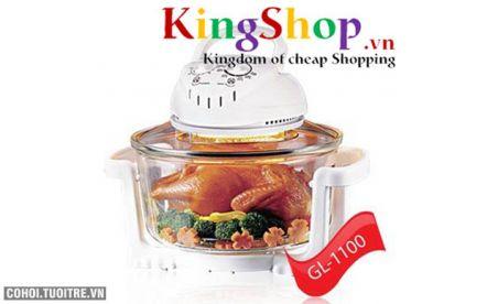 Lò nướng thủy tinh GL-1100 thương hiệu Việt