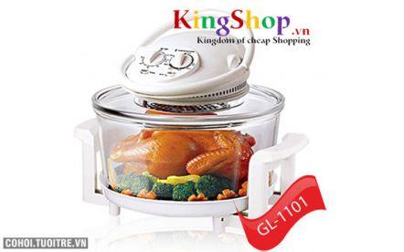 Lò nướng thủy tinh GL-1101 thương hiệu Việt