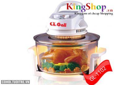 Lò nướng thủy tinh GL-1102 thương hiệu Việt
