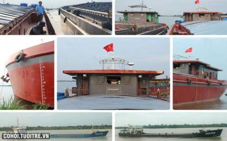 Vận chuyển hàng hóa bằng tàu sông biển