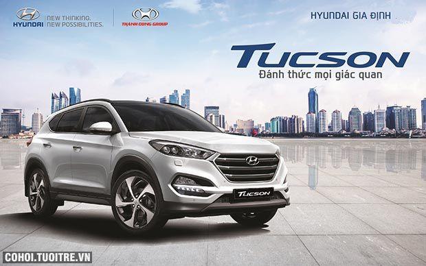 Hyundai Tucson CKD 2017 phiên bản lắp ráp tại Việt Nam