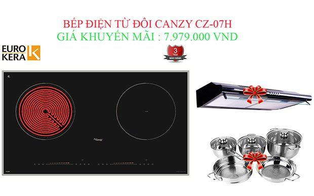 Bếp điện từ Canzy CZ-07H chính hãng