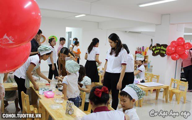 Trường mầm non Saigon Academy khai trương cơ sở mới