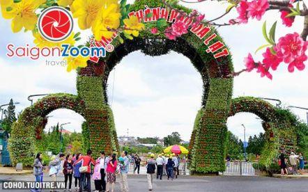 Tour tham quan Phan Thiết - Đà Lạt Tết Nguyên Đán 2015