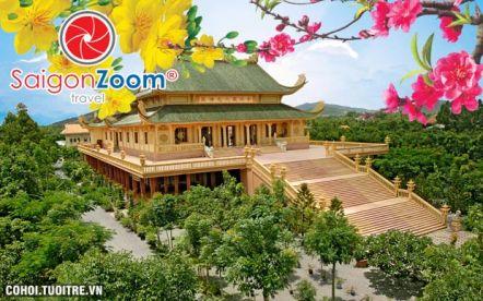 Tour Hành hương 10 cảnh chùa Vũng Tàu Tết 2015