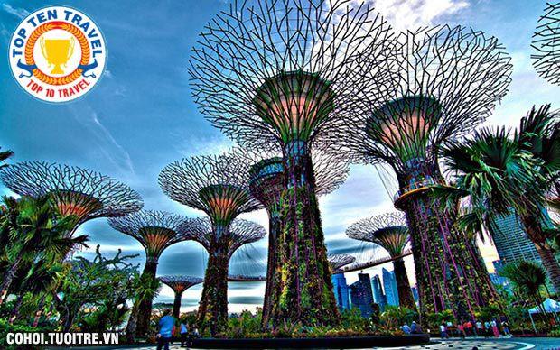 Tour liên tuyến Singapore - Malaysia giá 10,39 triệu đồng