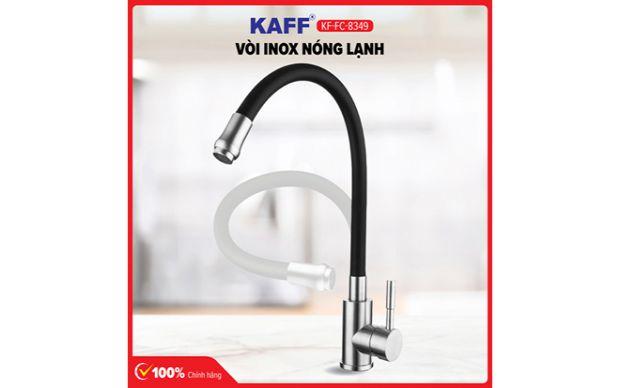 Vòi rửa bát inox 304 nóng lạnh KAFF KF-FC8349