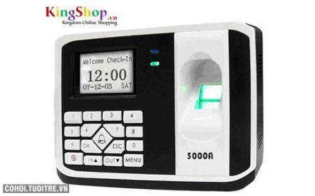 Máy chấm công vân tay, thẻ cảm ứng Ronald Jack 5000AID