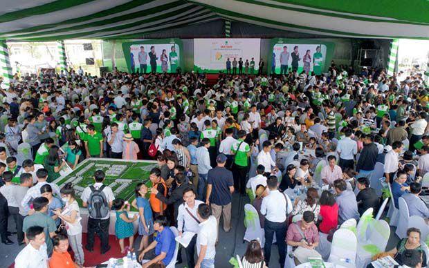 450 giao dịch thành công tại lễ giới thiệu dự án Lovera Park