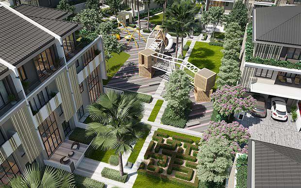 Công bố giá và chọn căn The Mansions ParkCity Hanoi