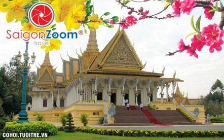 Tour Campuchia - cao nguyên Bokor - biển Sihanoukville Tết Nguyên Đán 2015