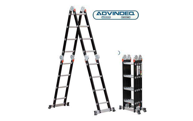 Thang nhôm gấp gọn đa năng 4 đoạn Advindeq ADM104