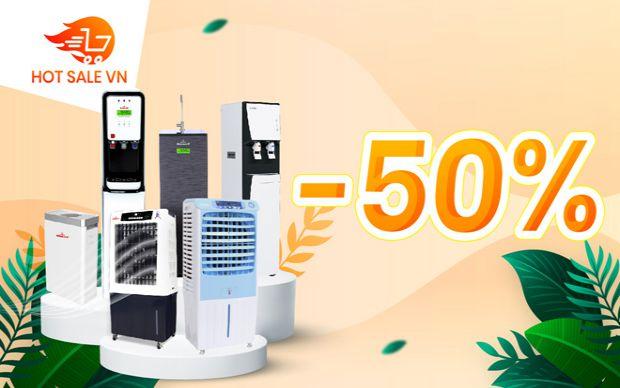 Hotsale 50% Máy làm mát, Máy lọc nước, máy lọc không khí ROBOT thế hệ mới