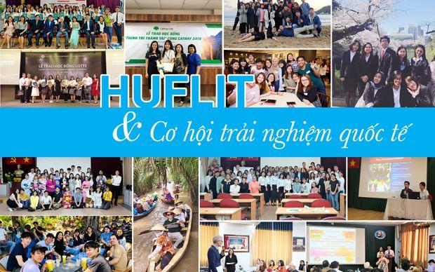 HUFLIT và cơ hội trải nghiệm quốc tế