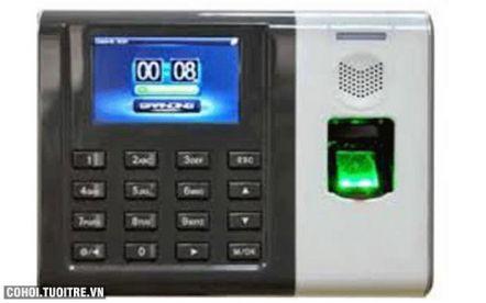 Máy chấm công vân tay và thẻ cảm ứng Ronald Jack DG100