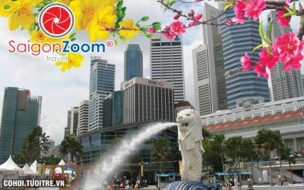 Tour du lịch giải trí, mua sắm tại Singapore - Malaysia Tết Nguyên Đán